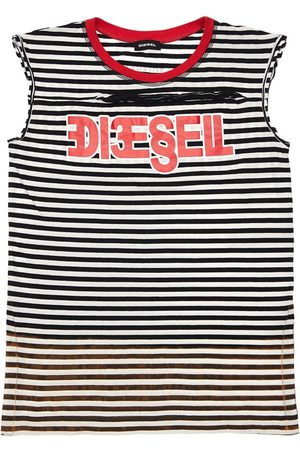 Diesel Striped Cotton Jersey Dress