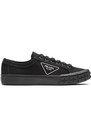 Prada Men Sneakers - Gabardine Wheel low-top sneakers