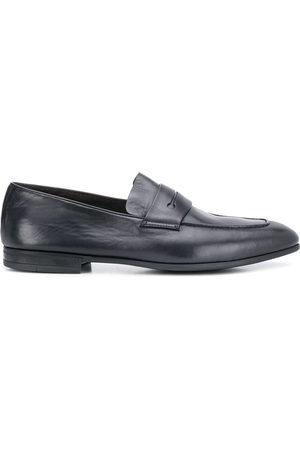 Ermenegildo Zegna Slim almond-toe loafers