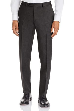 CANALI Men Skinny Pants - Capri Textured-Weave Slim Fit Dress Pants