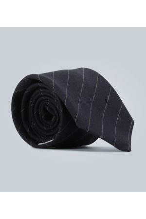 Éditions M.R Diagonal striped tie