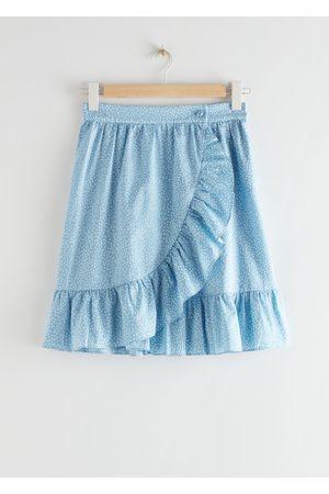 & OTHER STORIES Women Mini Skirts - Wrap Mini Skirt