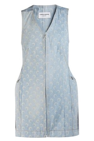 Marine Serre Women Party Dresses - Denim dress