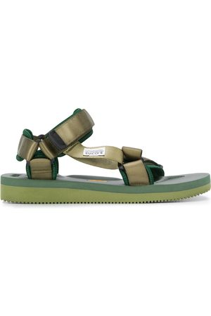SUICOKE Touch strap platform sole sandals