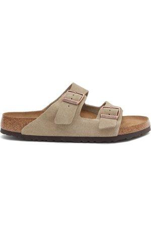 Birkenstock Arizona Suede Sandals - Mens