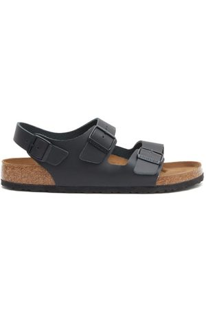 Birkenstock Milano Ankle-strap Leather Sandals - Mens