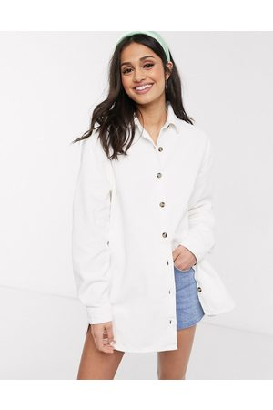 ASOS Shirts - Cord oversized shirt in