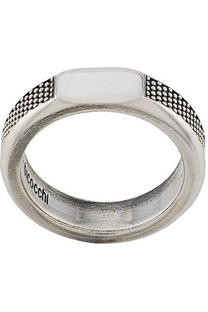 Emanuele Bicocchi Rings - Textured band ring
