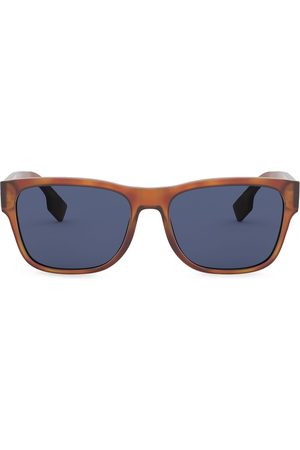 Burberry Eyewear Men Square - Logo Appliqué Square sunglasses