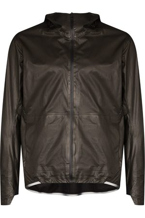 Veilance Hooded zipped jacket