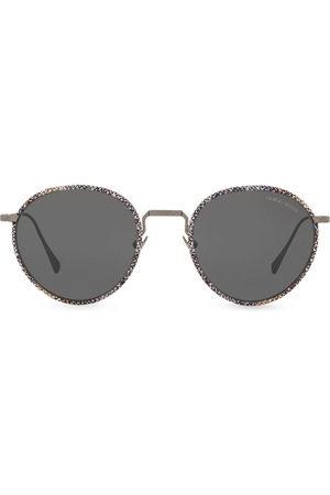 Armani Men Sunglasses - Woven tinted sunglasses - Metallic
