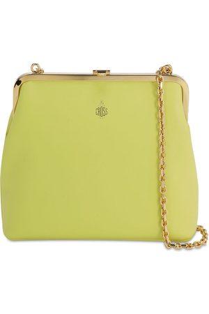 MARK CROSS Susanna Smooth Leather Shoulder Bag