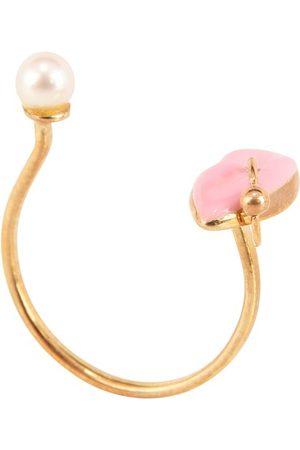 DELFINA DELETTREZ Women Rings - Lips Piercing ring