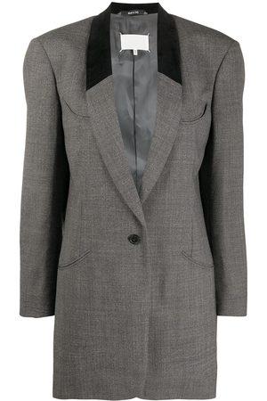 Maison Margiela Oversized wool blazer - Grey