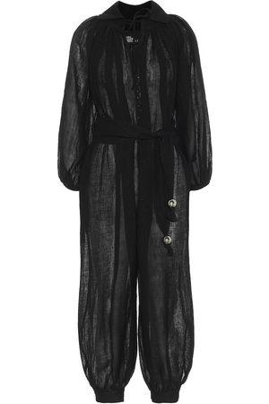 Lisa Marie Fernandez Poet linen-blend jumpsuit