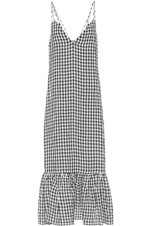 Khaite Exclusive to Mytheresa – Stacey gingham midi slip dress