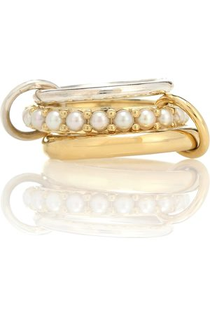 SPINELLI KILCOLLIN Akoya 18kt ring with pearls