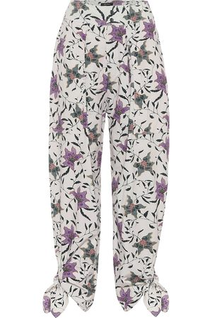 Isabel Marant Gaviao floral cotton pants