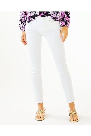 """Lilly Pulitzer Women High Waisted - 29"""" South Ocean High Rise Skinny Jean"""