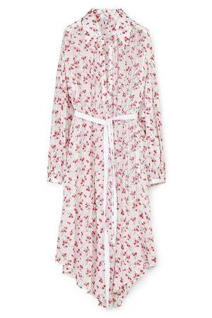 Loewe Women Casual Dresses - Flower print shirt dress
