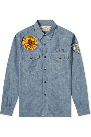 The Real McCoys The Real McCoy's USS Waccamaw Chambray Shirt