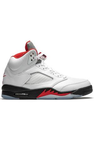Jordan Men Sneakers - Air 5 Retro fire red silver tongue 2020