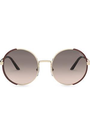 Prada Round-frame gradient sunglasses