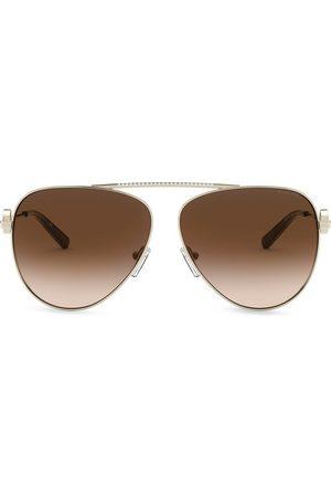 Michael Kors Women Aviators - Aviator style sunglasses
