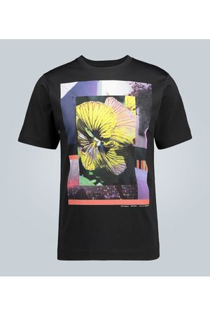 DRIES VAN NOTEN Printed cotton T-shirt