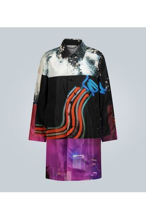 DRIES VAN NOTEN Photographic printed coat
