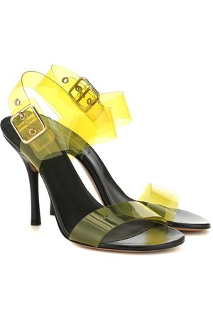 DRIES VAN NOTEN PVC and leather sandals