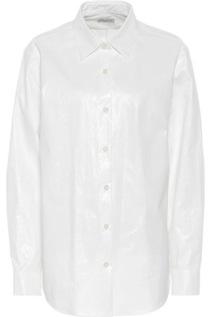 DRIES VAN NOTEN Cotton-blend shirt