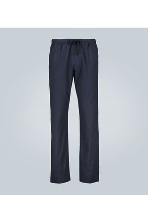 DRIES VAN NOTEN Straight-leg cotton pants