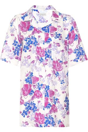 DRIES VAN NOTEN Floral-printed shirt
