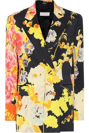 DRIES VAN NOTEN Floral blazer
