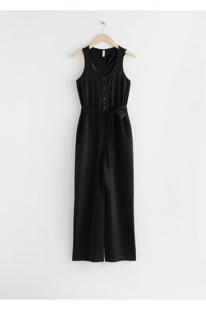 & OTHER STORIES Twisted Racerback Jumpsuit