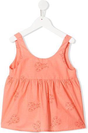 KNOT Girls Tank Tops - Ladybird-print vest