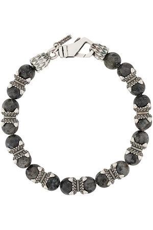 EMANUELE BICOCCHI Bracelets - Beaded bracelet - Grey