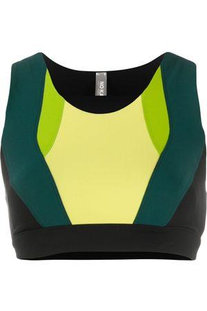 NO KA' OI Colour block sports bra