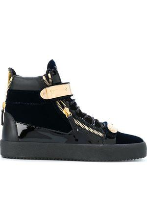 Giuseppe Zanotti Coby velvet hi-top sneakers