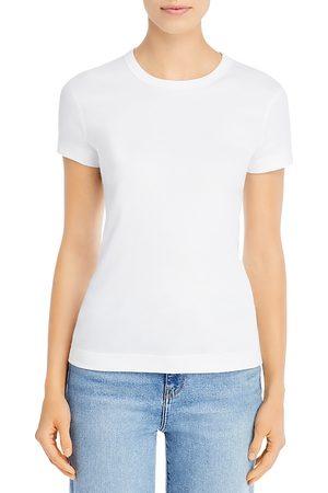 Three Dots Women T-shirts - Solid Crewneck Tee