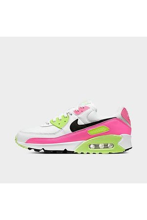 Nike Women Casual Shoes - Women's Air Max 90 Premium Casual Shoes in Size 7.5 Leather