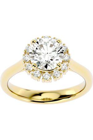 SuperJeweler 2 1/3 Carat Halo Diamond Engagement Ring in 14K (4.40 g) (