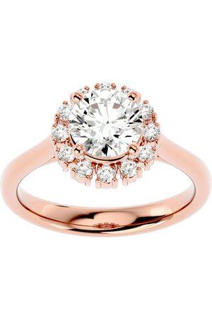 SuperJeweler 1 3/4 Carat Halo Diamond Engagement Ring in 14K (4.40 g) (