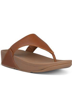 FitFlop Women's Lulu Slip On Thong Wedge Sandals