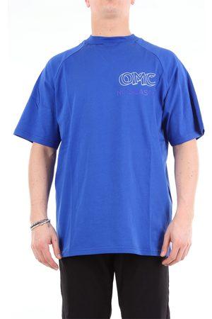 Omc Short sleeve Men Royal cotton