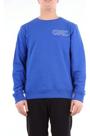 Omc Crewneck Men Royal cotton and polyester