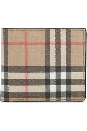 Burberry Ronan Check Billfold Wallet W/flap Slot