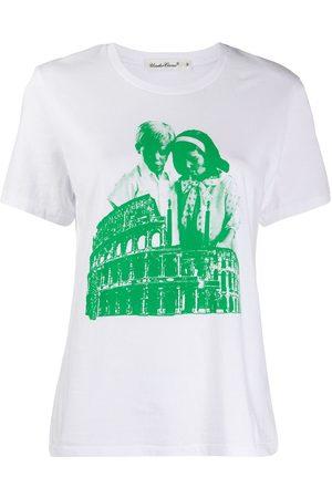 UNDERCOVER Coliseum print T-shirt