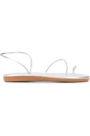 Ancient Greek Sandals Women Sandals - Kansiz slingback sandals